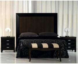 Luxusné vysoké čelo postele Nuevas formas z dreva 180cm