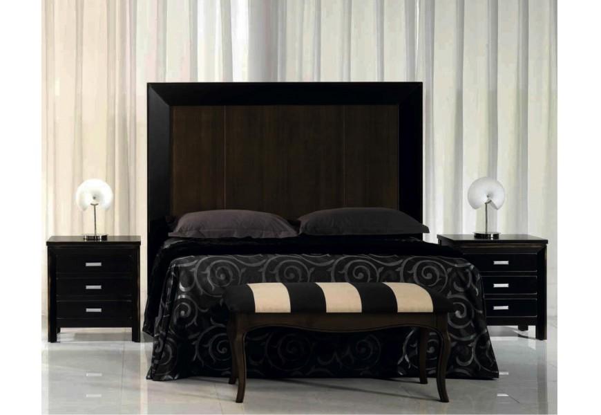 Exkluzívne elegantné čelo postele Nuevas formas z dreva
