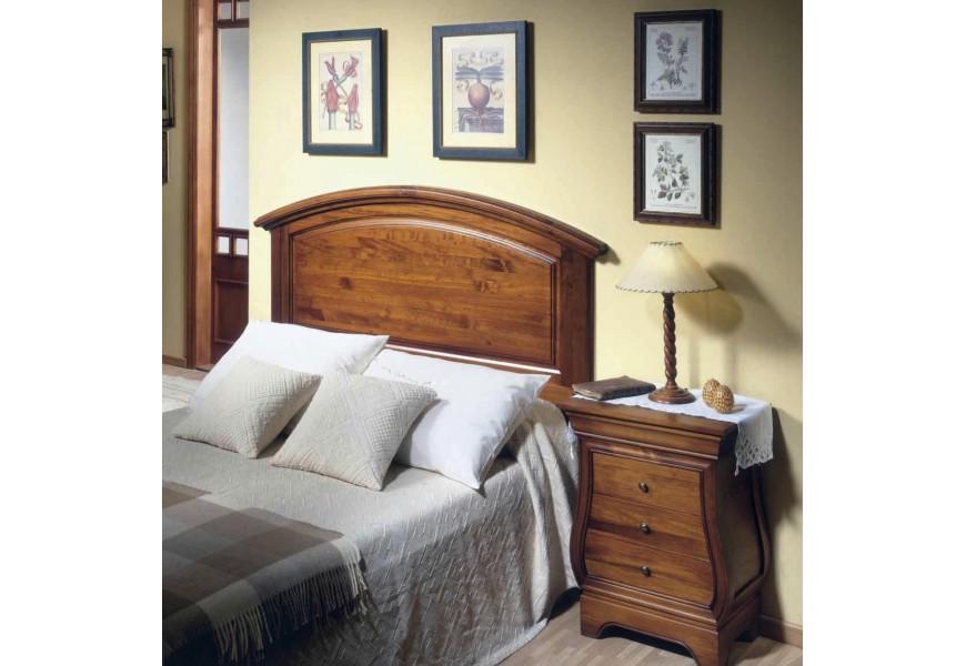 Luxusné zadné čelo postele Arles z dreva s ručným vyrezávaním
