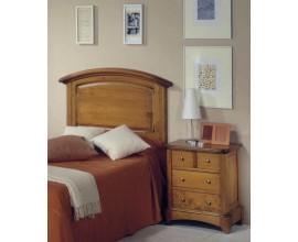 Klasické drevené zadné čelo postele Arles 130cm