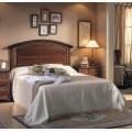 Elegantné luxusné zadné čelo postele Arles z masívneho bukového dreva