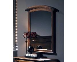 Rustikálne nástenné zrkadlo Arles s dreveným rámom 112cm