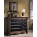 Luxusná klasická komoda Frontes z dreva s ôsmymi zásuvkami v koloniálnom štýle