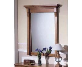Rustikálne nástenné zrkadlo Frontes s dreveným rámom 115cm
