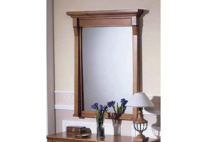 Luxusné zrkadlo Frontes 115x91cm