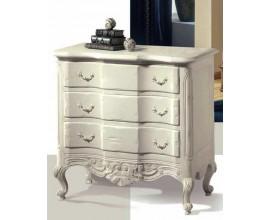 Luxusná svetlá komoda s tromi zásuvkami Luis Philippe