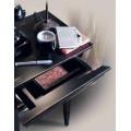 Rustikálny luxusný telefónny stolík Luis Philippe s poličkou 70cm
