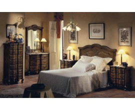 Rustikálna luxusná spálňová zostava Selleccion 2 z dreva