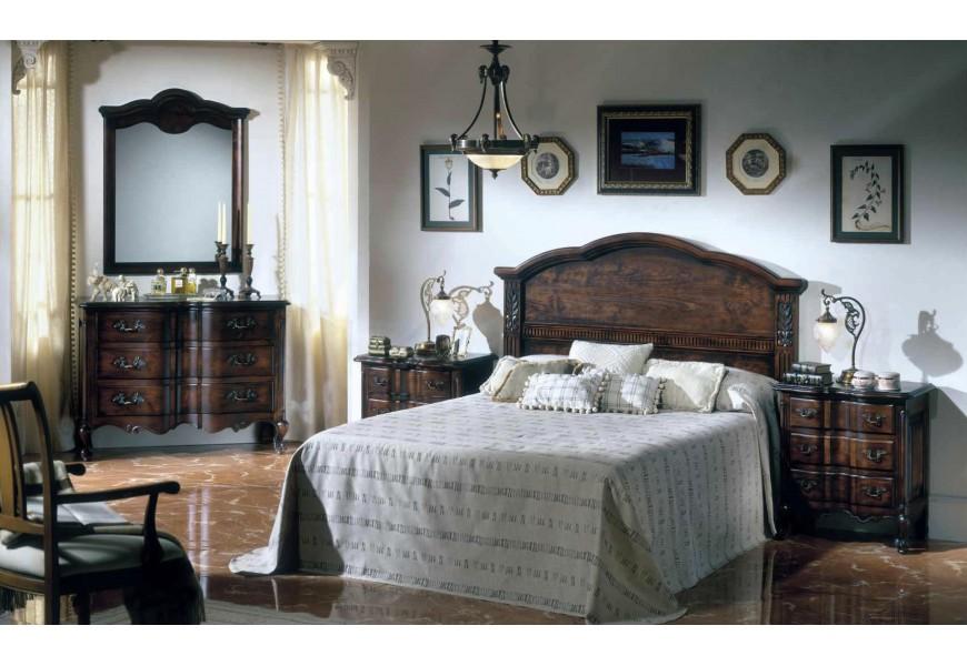 Luxusná rustikálna zostava Selleccion 7 z dreva s vyrezávanými prvkami