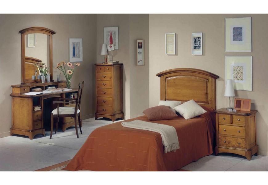 Luxusná zostava do spálne Selleccion 15 v koloniálnom štýle z dreva