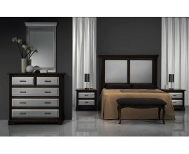 Klasická luxusná spálňová zostava Nuevas Formas 6 z dreva