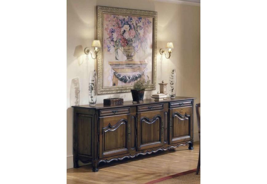 Luxusný rustikálny príborník s tromi dvierkami Nuevas formas