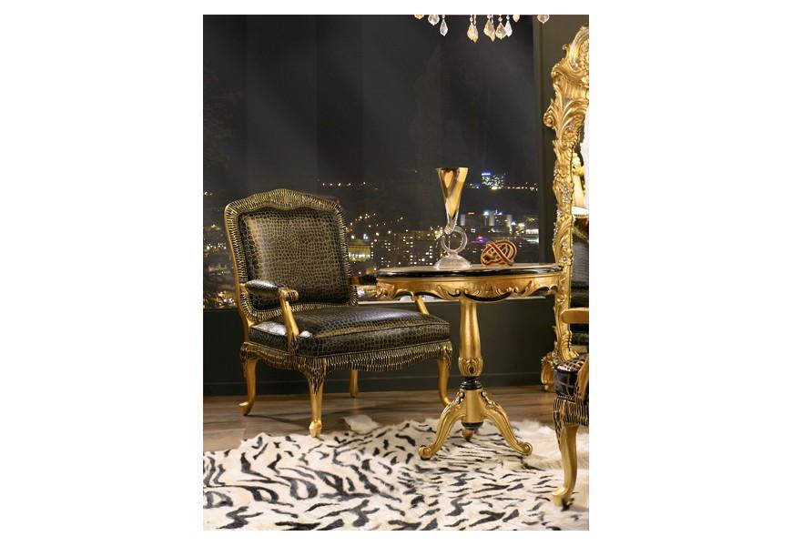 Luxusné kožené kreslo Argento