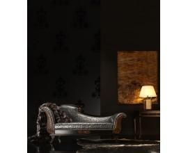 Luxusná leňoška patinovaná  Argento