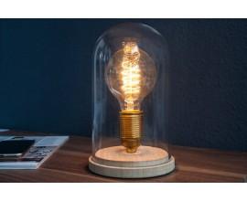 Dizajnová stolná lampa Edison retro