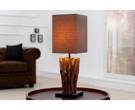 Dizajnová hnedá lampa Euphoria 45cm