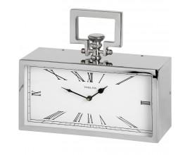 """Štýlové strieborné hodiny """"Timeless"""" obdĺžnikové"""