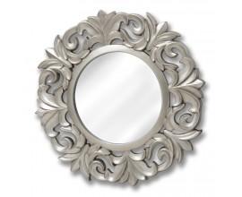 Štýlové veľké okrúhle zrkadlo barokové
