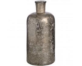 Antická strieborná sklenená nádoba