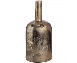 Veľlká antická strieborná fľaša