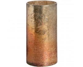 Medený metalický  veľký svietnik