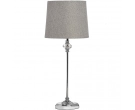 Štýlová stolná chrómová lampa FLORENCE 49cm
