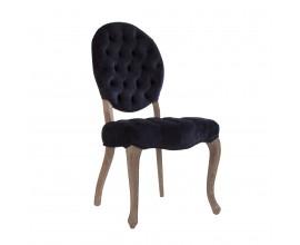 Štýlová zamatová stolička EGER