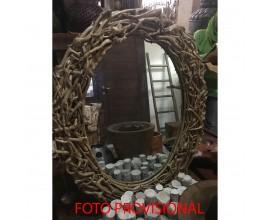 Dizajnové zrkadlo PALO 88x70cm