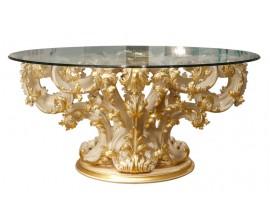 Jedálenský stôl so skleneným vrchom Candle