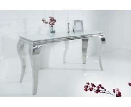 Luxusná konzola Modern Barock 140cm biela