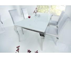 Luxusný jedálenský stôl Modern Barock 180 cm biely