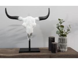 Štýlová stojaca lebka býka El Toro