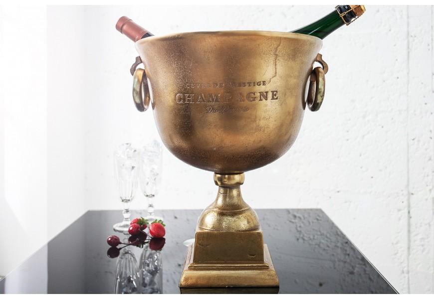 Štýlová nádoba Champagne Royal 40cm zlatá