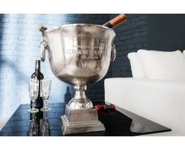 Štýlová nádoba Champagne Royal 40cm strieborná