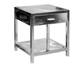 Art-deco nočný stolík Cromia štvorcového tvaru 55cm