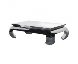 Luxusný obdĺžníkový konferenčný Art-deco stolík Cromia