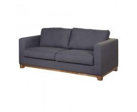 Dizajnová sedačka Luciano sivá