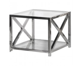 Moderný príručný stolík Steele