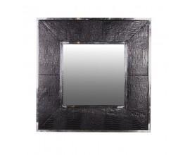 Štýlové nástenné zrkadlo s dizajnom krokodílej kože 101cm