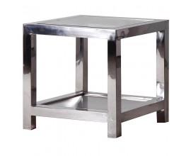 Art-deco luxusný príručný stolík Cromia 55cm