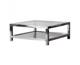 Art-deco luxusný konferenčný stolík Cromia 100cm