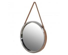 Dizajnové moderné okrúhle zrkadlo 53cm
