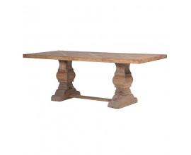 Štýlový masívny jedálenský stôl CLARENCE 219,5cm