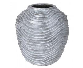 Jedinečná sivá váza Proven 32cm