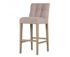 Štýlová čalúnená barová stolička