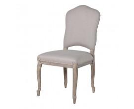 Štýlová čalúnená jedálenská stolička Isabelle béžová 101,5cm