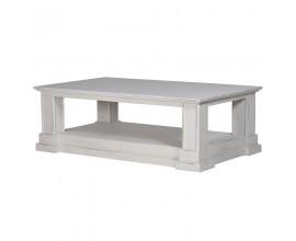 Štýlový provensálsky konferenčný stolík z masívu 150cm