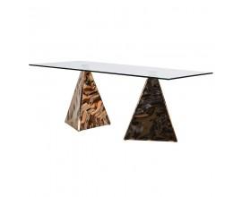 Luxusný jedálenský stôl Pyramide