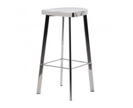 Art-deco luxusná barová stolička Cromia 79cm