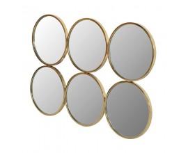 Luxusné Art-Deco zrkadlo Marilyn zlaté